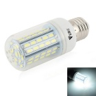 WaLangTing E27 7W LED Corn Bulb Lamp Cool White Light 7000K 500lm 72-5730 SMD - White (110~240V)