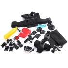 35-in-1 Mount Accessories Kit for GoPro, SJ5000, SJCam, Xiaomi Xiaoyi
