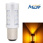 MZ 1157 4.2W 630lm 21-SMD 2835 LED Yellow Car Steering Light Constant Current (12~24V)