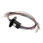18 Wires 2A Per Circuit 240V D22mm Capsule Slip Ring for Medical Equipment / CCTV Monitoring