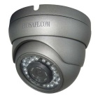 "HOSAFE 13MD2PG Waterproof 1/4"" CMOS 1.3MP 960P ONVIF Dome IP Camera w/ POE / 36-IR-LED - Grey"