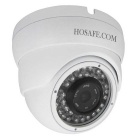 "HOSAFE 13MD2PW Waterproof 1/4"" CMOS 1.3MP 960P ONVIF Dome IP Camera w/ POE / 36-IR-LED - White"