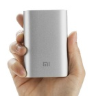 Xiaomi 10000mAh USB Power Bank w/ 4-LED + USB Mini Fan - Blue + Silver