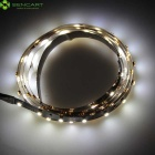 7.5W LED Strip Light Cold White 90-3528 SMD + RF Control - Black (15m)