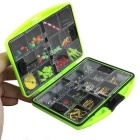 Fishing Full Set 20 Accessories Combination Waterproof Box - Green