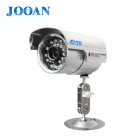 "JOOAN JA-536LG 1/4"" CMOS 0.3MP HD Security Camera Recorder Camcorder w/ 24-IR-LED / TF - Silver"