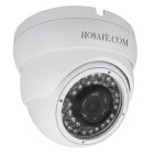 "HOSAFE 1MD2PW Wasserdichte 1/4 ""CMOS 1.0MP 720P ONVIF Haube IP-Kamera w / POE / 36-IR-LED - White"