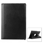 "360 Degrees Rotatable PU Full Body Case w/ Stand for Samsung Galaxy Tab A 8.0"" / T350 - Black"