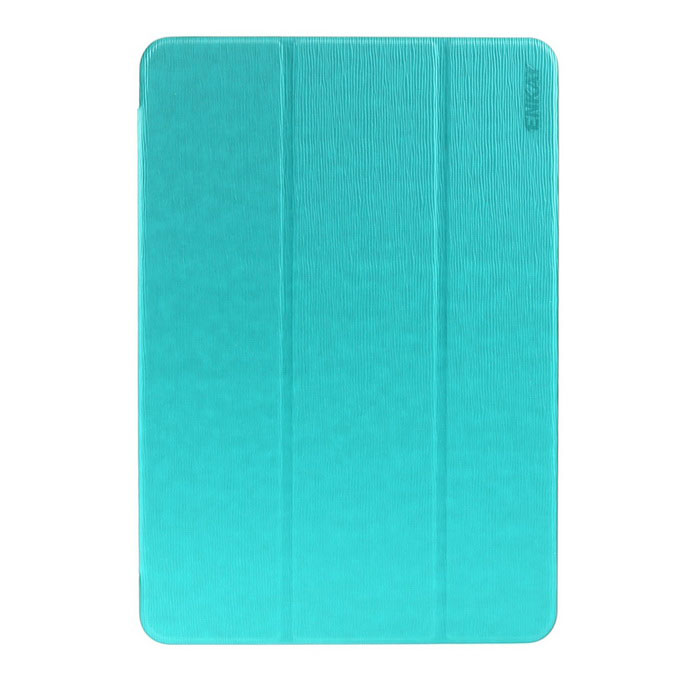 ENKAY ENK-7089 3-Fold Protective Case w/ Stand for Samsung T550 - Cyan