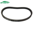 Carking Motorcycle Motorbike 759mm-Girth Engine Motor Rubber Drive Belt for GY6-125 - Black