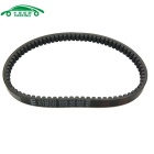 Carking Motorcycle Motorbike 755mm-Girth Engine Motor Rubber Drive Belt for GY6-125 - Black