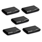 Accordion Style RF-Proof Credit Card / Bank Card / ID Card Storage Bags - Black (5 PCS)