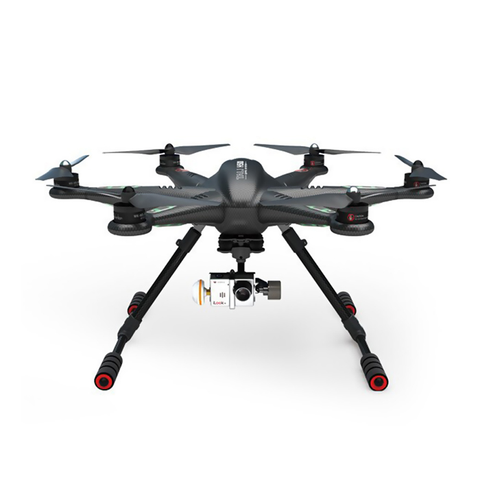 Walkera TALI H500 12-CH 2.4GHz Radio Control Hexacopter Set - Black