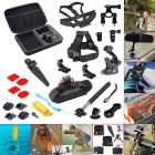 22-in-1 Accessories Kit for GoPro Hero 4 / Hero HD 3+ / 3 / 2 / 1 - Black