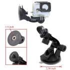 22-in-1 Accessories Kit for GoPro Hero 4, Hero HD 3+ 3 2 1 - Black