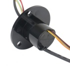 1080P Slip Ring 1 Circuit SDI + 6 Circuits Slip Ring Video Plug BNC
