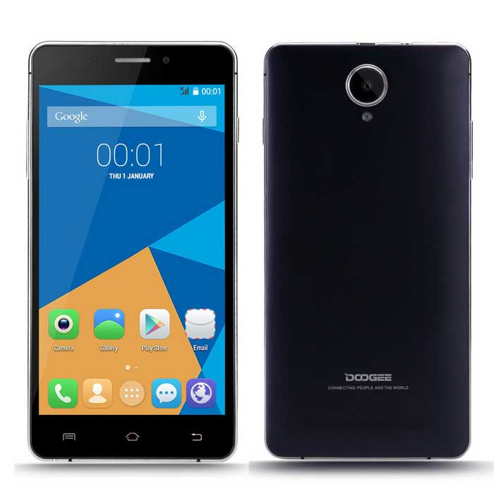 doogee ibiza f android g phone w gb ram gb rom black blue
