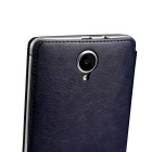 DOOGEE PU + Plastic Flip Open Case Cover for DOOGEE IBIZA F2 - Black