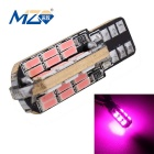 MZ T10 9.6W 48-SMD 4014 LED 1440lm Pink Decode Error-Free Canbus Car Clearance Lamp (12~18V)