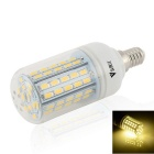 WaLangTing E14 7W Dimmable LED Bulb Lamp Warm White 3200K 500lm 72-SMD 5730 (110~240V)
