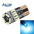 MZ T10 3W 15-SMD 4014 450lm LED Decode Error-Free Canbus Car Clearance Lamp Ice Blue (12~18V)