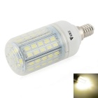 WaLangTing E14 7W Dimmable LED Bulb Lamp Natural White 4500K 500lm 72-5730 SMD (AC 110~240V)