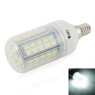 WaLangTing E14 7W Dimmable LED Corn Bulb Cool White Light 7000K 500lm 72-5730 SMD (AC 110~240V)