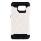 2-In-1 Protective TPU + PC Detachable Back Case for Samsung Galaxy S6 - White