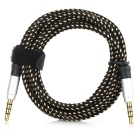 3.5mm Male to Male Car Audio Cable - Black (150cm)