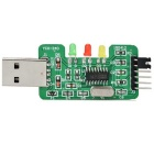 STC/STM32 CH340G Upgraded USB to TTL Downloader - Green