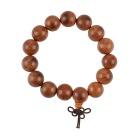 15mm Classic Vietnamese Rosewood Beads Bracelet
