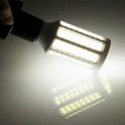 E14 8W LED Corn Bulb Lamp Cool White 7500K 1200lm 42-SMD 5630 - White