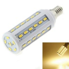 E14 8W LED Corn Bulb Lamp Warm White Light 3000K1200lm 42-SMD 5630 - White (AC 220V)