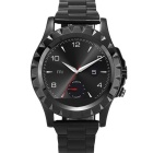 "NO.1 SUN S2 1.22"" IPS Bluetooth Smart Watch w/ Heart Rate - Black"