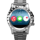 "NO.1 SUN S2 1.22"" IPS Waterproof Bluetooth Smart Watch w/ Heart Rate, Pedometer, 300KP Cam - Silver"