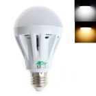 Zweihnder E27 9W LED Radiating Globe Bulb White Light 6000K 750lm 33-SMD 2835 - White (AC 220~240V)