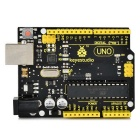 Keyestudio UNO R3 Styret for Arduino - Sort + Gul