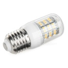 E27 6W LED Corn Lamps Warm White 300lm 60-SMD - White + Beige (5PCS)