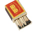 Wooden Match Box - Full of Match Sticks (10-Box Pack)