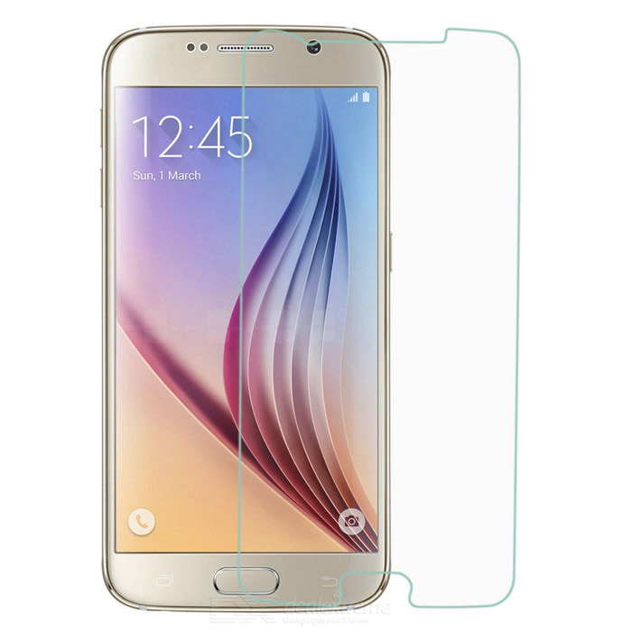 0.26mm Tempered Glass Screen Films for Samsung S6 - Transparent (2PCS)