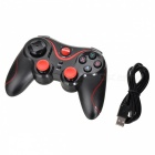 TERIOS 14-Key Bluetooth V3.0 + HS Game Controller - Black + Red