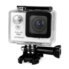 "iLepo HD Multi-Function 2.0"" LCD Sport Action 1080P HD Camcorder Camera w/ Wi-Fi - White + Black"