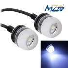 MZ 1.5W LED Car Daytime Running Light White 6500K 150lm 3-SMD (Pair)