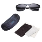 ReeDoon Aluminum Magnesium UV400 Polarized Sunglasses - Blue Gray