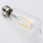 E27 4W LED Filament Bulb Warm White 2700K 300lm (AC 220V)