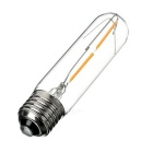 E27 2W LED Filament Bulb Lamp Warm White Light 180lm - Transparent