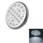 CARKING 3W Car LED Dome Roof Ceiling Lamp White 6500K 200lm 24-SMD 1210 (12V)