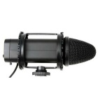 BOYA BY-V02 Stereo Condenser Microphone Interview Dedicated Microphone for DSLR & DV Camcorder