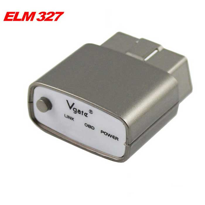 Vgate EML327 icar1 Bluetooth 4.0 Car Diagnostic Tool - Champagne