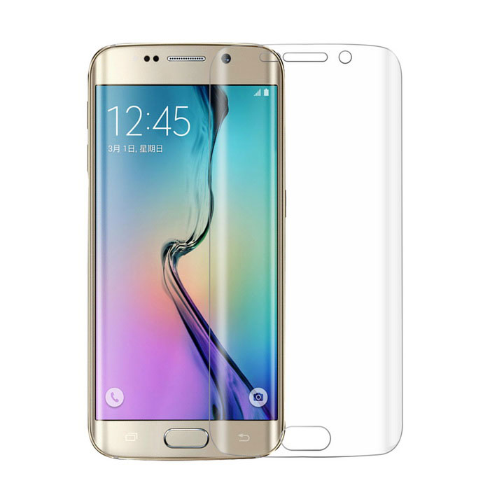 0.1mm TPU Screen Film for Samsung Galaxy S6 Edge G925F - Transparent